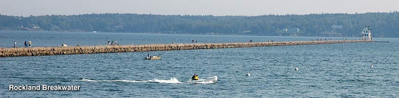 Rockland Breakwater, Rockland Maine