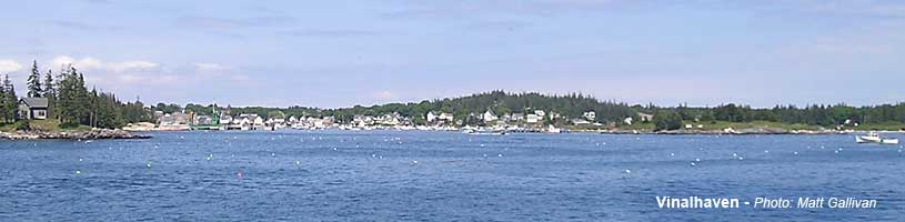 Carver's Harbor - Vinalhaven Maine