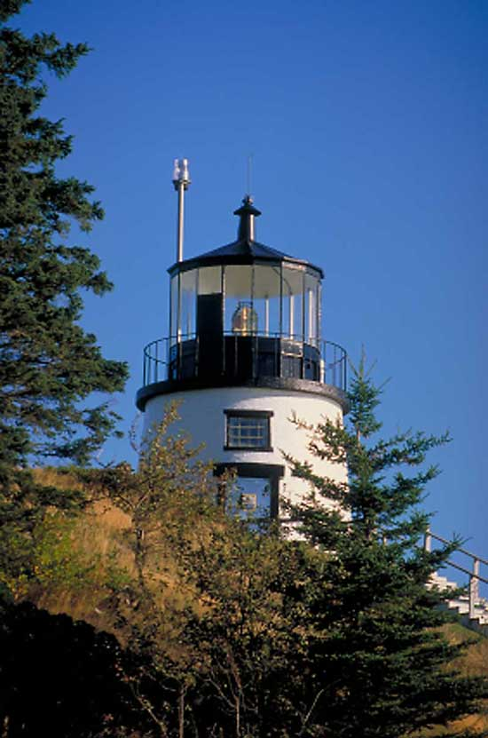 Owls Head Light Rockland Maine Sightseeing Attractions